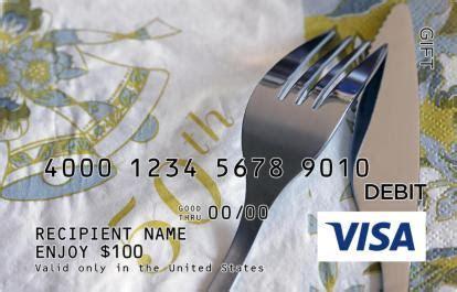 50th Anniversary Visa Gift Card