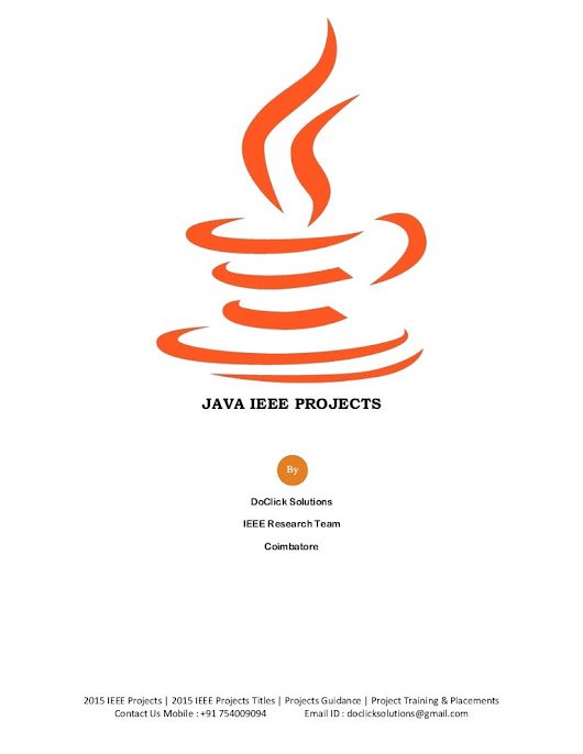 Cloud computing 2015 ieee papers Data mining ieee project titles