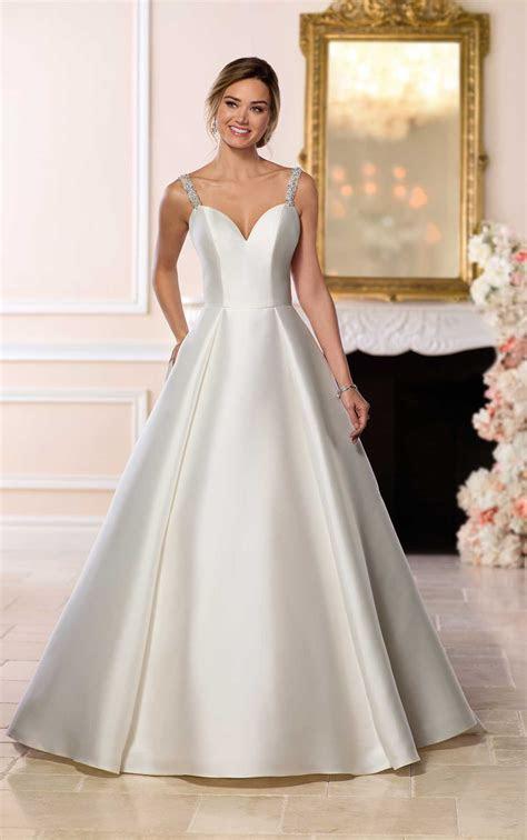 Simple Ballgown Wedding Dress   Stella York Wedding Gowns