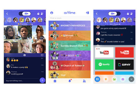 Sean Parker's Airtime Reboots as Group Video Hangout App - WSJ