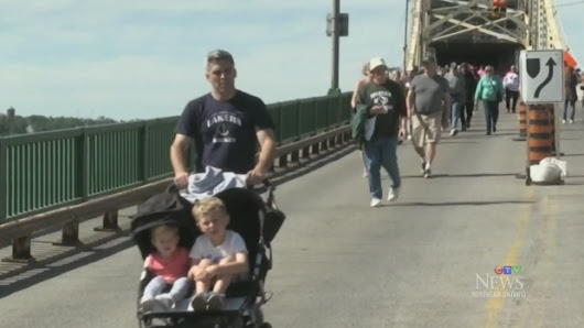 CTV Northern Ontario: International Bridge Walk