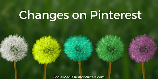 What's New to Pinterest for Writers?