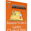 Download the Free eList '7 Awesome Reasons to get a Capitec Global One Card'