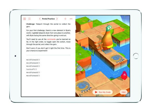 Meet Swift Playgrounds, the learn-to-code iPad app that feels like a puzzle game