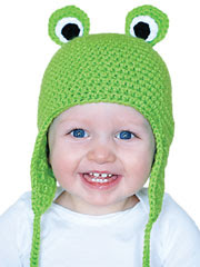 Froggy Hat Pattern - Electronic Download