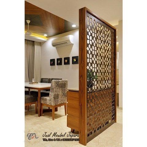 partisi kayu minimalis modern - desain partisi rumah