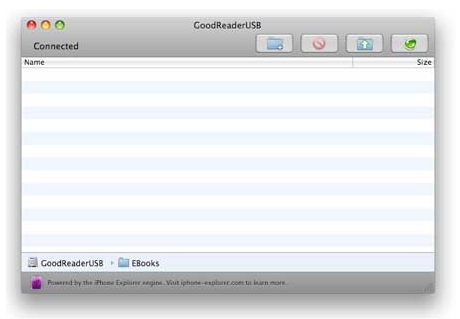 GoodReaderUSB for Mac OS X