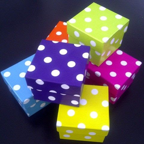 Polka Dot Boxes