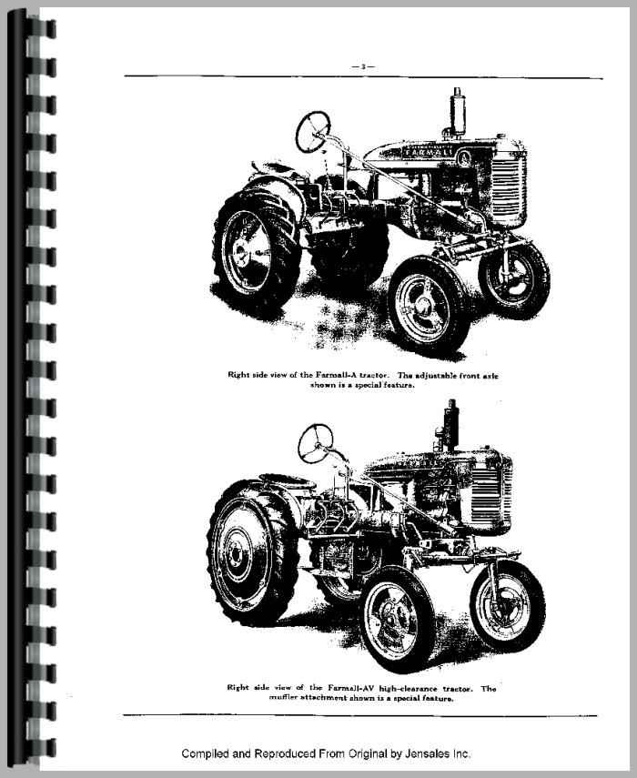 Farmall Model A Engine Diagram