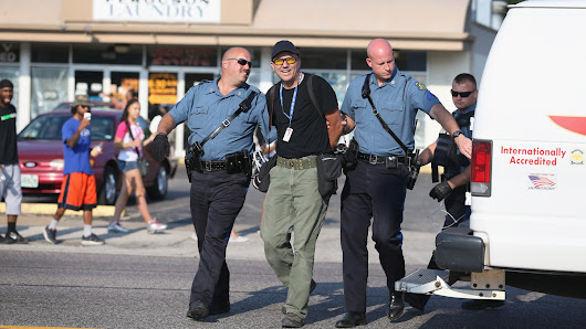 Police are operating with total impunity in Ferguson