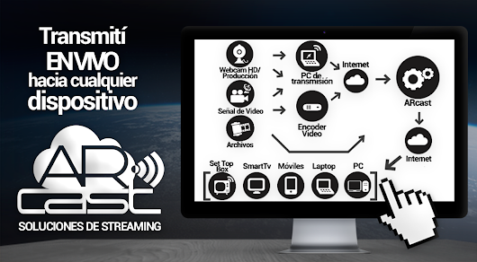 ARcast - Streaming Audio y Video, en vivo y bajo demanda