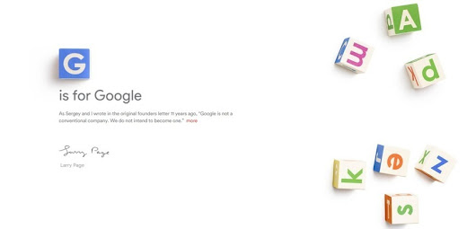 Who saw this coming? Google announces Alphabet ...