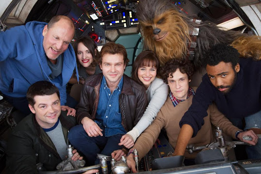 Untitled Han Solo Star Wars Story Begins Production - Jen is on a Journey