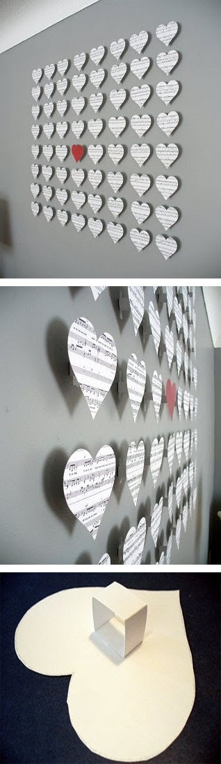 21 Extraordinary Smart DIY Paper Wall Decor That Will Color Your Life homesthetics design 4 20 Extraordinary Smart DIY Paper Wall Decor [Free Template Included]