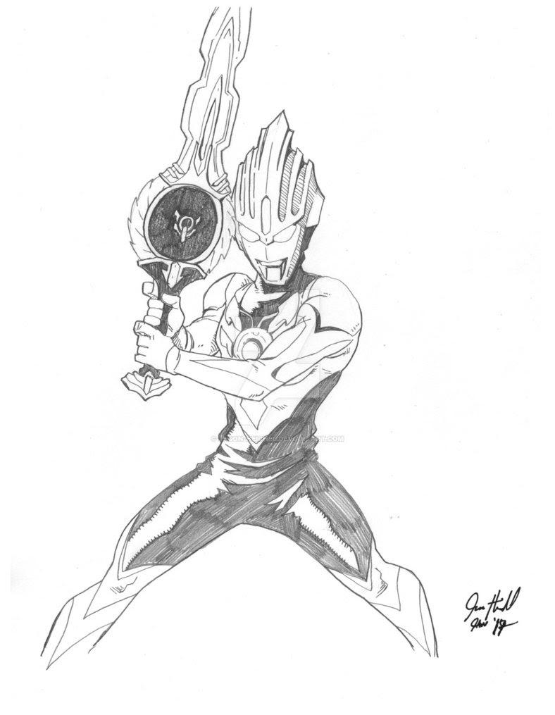 Kumpulan Gambar Mewarnai Ultraman