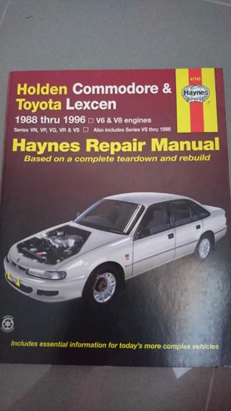 Bestseller  Vp Commodore Repair Manual