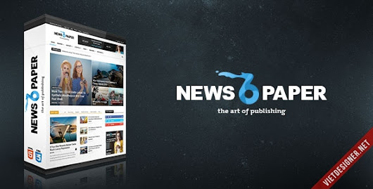 Newspaper - Premium Wordpress Theme (kèm PSD)