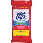 Wet Ones Antibacterial Hand Wipes Fresh Scent Travel Pack - 20 Count