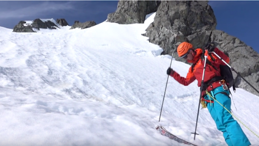 Roping Into A Ski Line - Ski Mountaineering Tips Ep.5