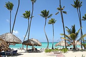 Polski: Punta Cana beach, Dominicana