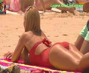 Luciana Abreu super sensual na novela Sol Inverno