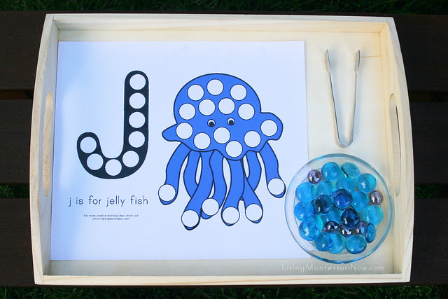 J is for Jellyfish Activity_withwatermark