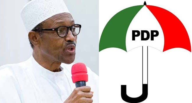 PDP hired 2,000 people to protest against service chiefs on Monday - Presidency
