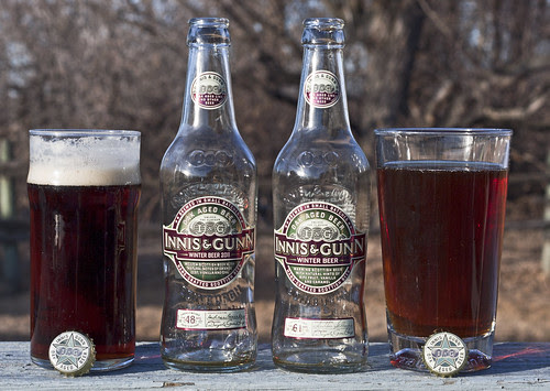 Dual Review: Innis & Gunn Winter Beer 2010 vs 2011 by Cody La Bière