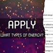 Forms of Energy Introduction