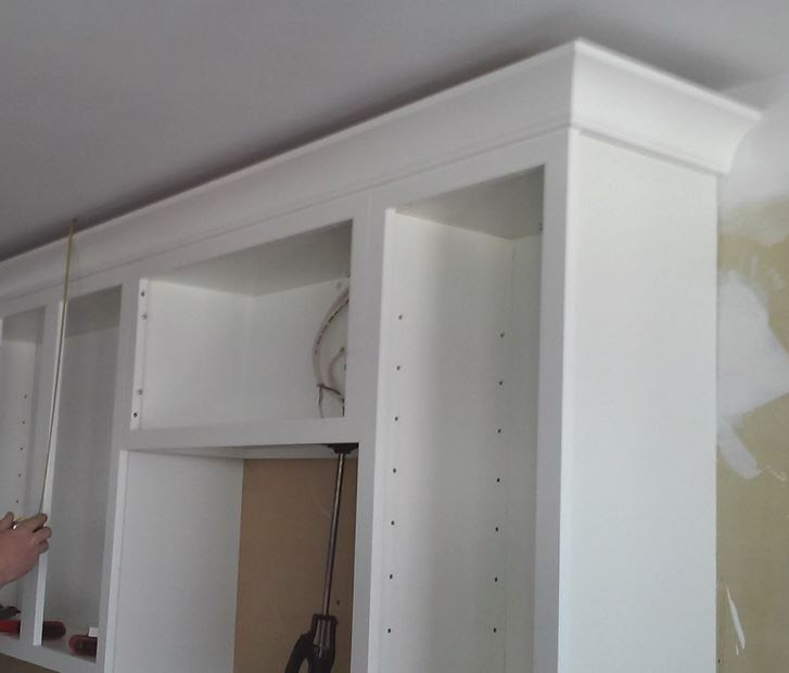 Ceilings That Are Not Level and Crown Molding   Kitchen ...