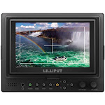 """569/o 5"""" Led Camera-top Monitor With Hdmi Input & Output, 800x480"""