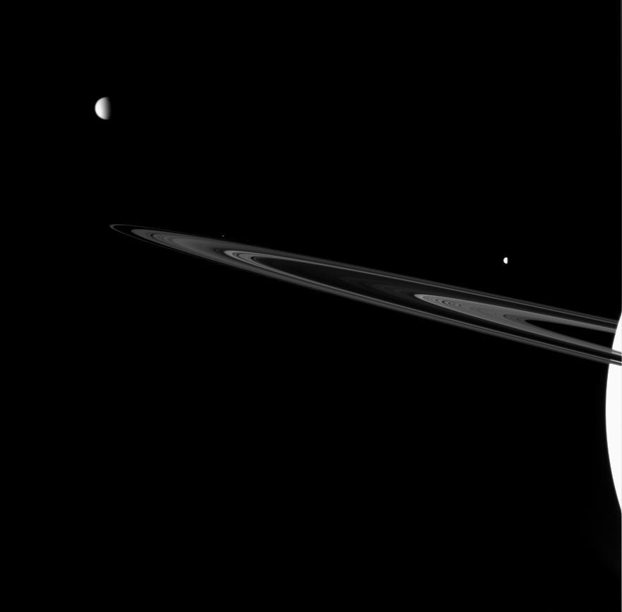 La familia de Saturno