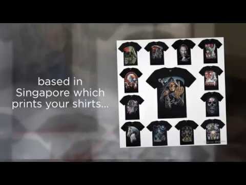 T shirt manufacturer in Singapore
