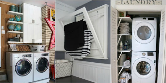 Small Space Laundry Organization on GoodHousekeeping.com