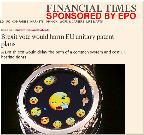 Financial Times on UPC