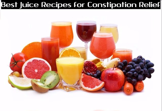 Juice Recipes for Constipation