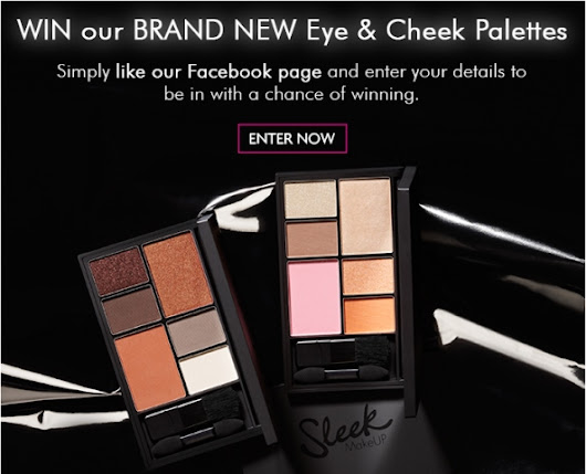 Giveaway - WIN our brand new Eye & Cheek Palettes