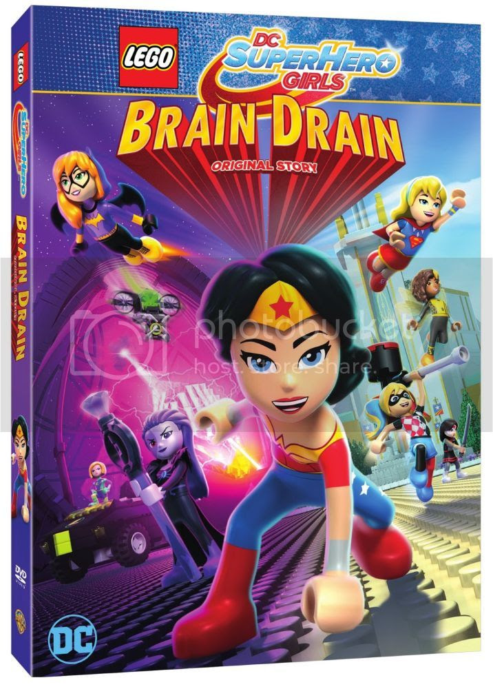 LEGO DC Super Hero Girls Brain Drain DVD
