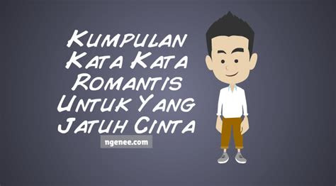kumpulan kata kata romantis   jatuh cinta