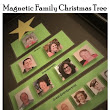 Magnetic Family Christmas Tree