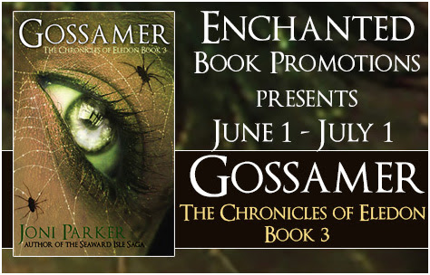 """My Fantasy World"" by Joni Parker Author of Gossamer: The Chronicles of Eledon Book 3 - Author Deborah A Bailey"