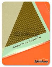 Calcas  Hobby Design - Fibra kevlar con fondo dorado - Tamaño mediano