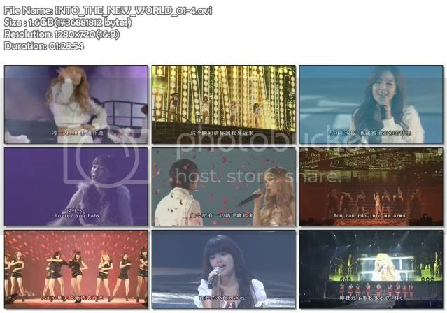 [CONCERT] SNSD   INTO THE NEW WORLD(The 1st Asia Tour Concert)