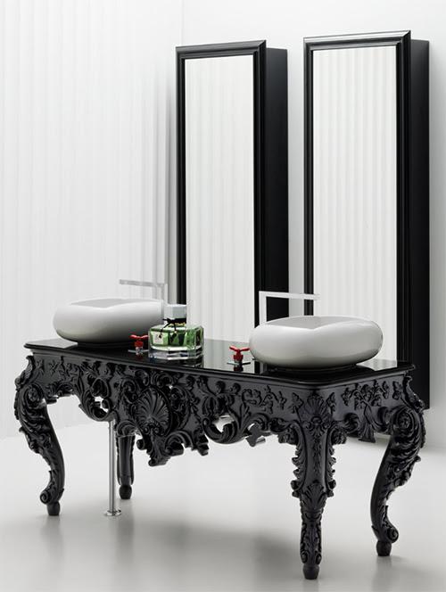 Modern Antique Bathroom Vanities, Consoles, Mirrors - Bisazza
