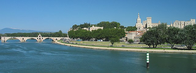 The Rhone at Avignon
