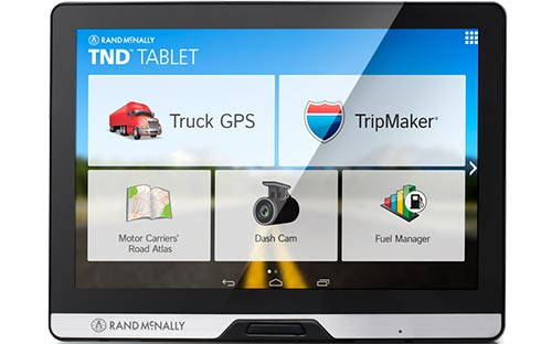 Rand McNally TND Tablet Advanced truck GPS + Android tablet w 8 inch S