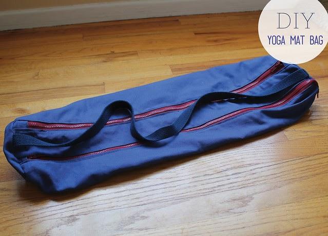See How I Run Diy I Am Zippered Yoga Mat Bag