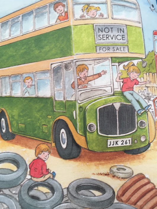Review: Jay-Jay The Supersonic Bus and Jay-Jay and his Island Adventure by Sue Wickstead