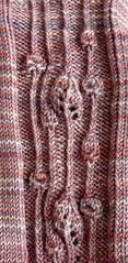 faux cables art nouveau mackintosh scotland original knitting stitch pattern