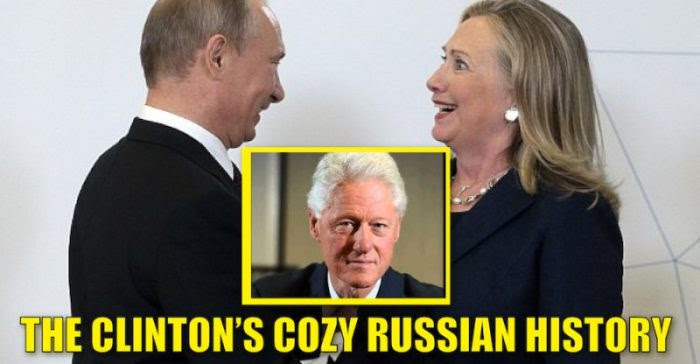 Image result for clinton russia